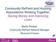 Community RePaint Worcester - Social Housing Exhibition