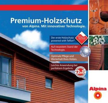Premium-Holzschutz - Baumarktwissen.eu