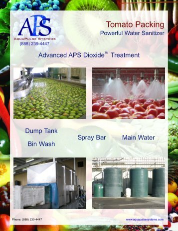 Tomato Packing - AquaPulse Systems