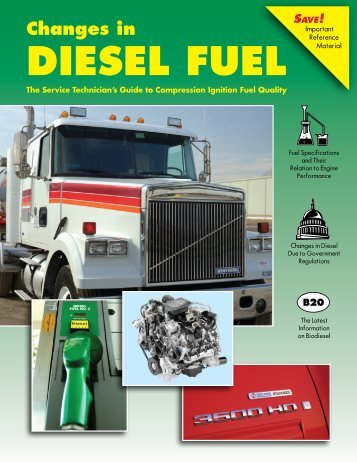 Changes in Diesel Fuel Save! - National Biodiesel Board