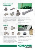 Welding nuts Inserts - KOHLHAGE Fasteners - Page 3