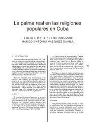 La palma real en las religiones populares en Cuba - Portal de la ...