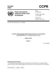 Pacte international relatif aux droits civils et politiques