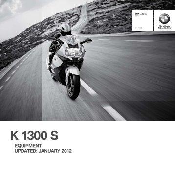 K 1300 S - BMW Motorrad