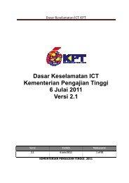 Dasar Keselamatan ICT Versi 2.1