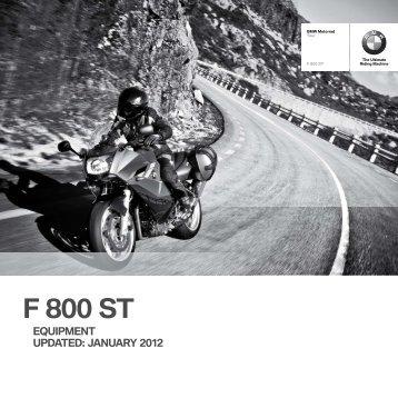 F 800 ST - BMW Motorrad
