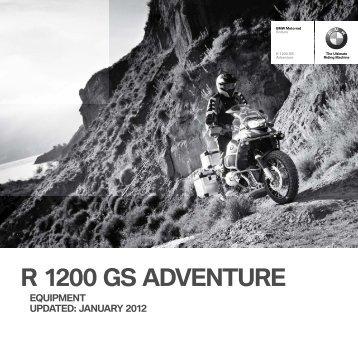 R 1200 GS Adventure - BMW Motorrad