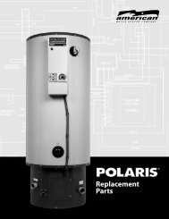 Replacement Parts - American Water Heaters