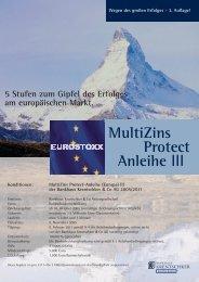 MultiZins Protect Anleihe III - Bankhaus Krentschker & Co ...