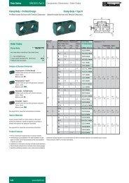 Dimensions / Order Codes Clamp Body ƒ 3UR OHG - Stauff
