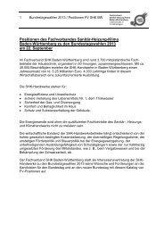 Positionen des Fachverbandes Sanitär-Heizung-Klima Baden ...