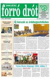 2010. szeptember - Villamosenergia-ipari Dolgozók Szakszervezeti ...