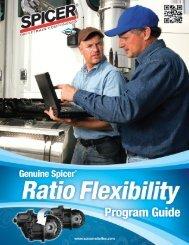 ratio flexibility program guide 2012