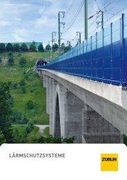 Broschüre Lärmschutz - Züblin AG Systembau
