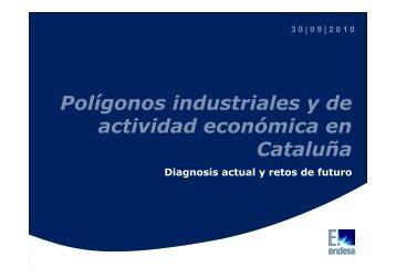 Polígonos industriales y de actividad económica en Cataluña