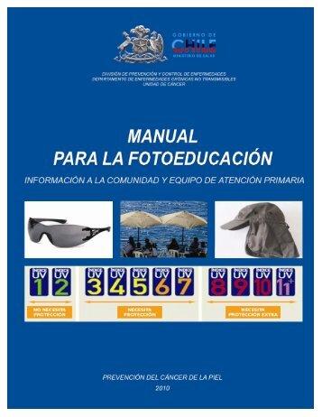 Manual para Fotoeducación. - SEREMI de Salud Región del Biobío.