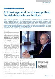 Entrevista a Carlos Carnicer, presidente de Unión Profesional
