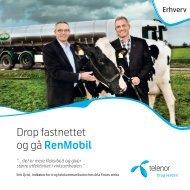 Drop fastnettet og gå RenMobil - Telenor