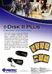 e-DISK II PLUS - PRETEC Europe