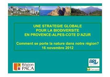 SGB Région PACA : actualités - Agence régionale pour l ...