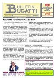 ASSEMBLEE GENERALE ORDINAIRE 2010 - Twikee
