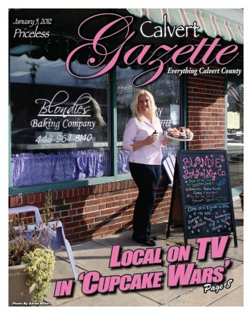 local on in 'cupcake wars' - County Times - Southern Maryland Online
