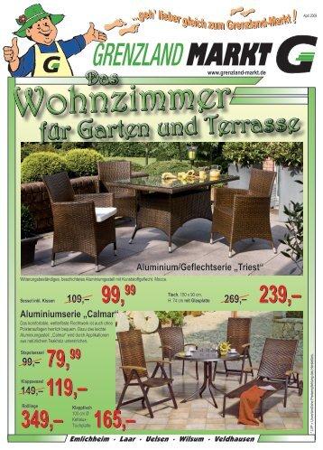 für Garten und Terrasse - Grenzland Markt