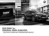 F20 DE Titel.indd - BMW Deutschland