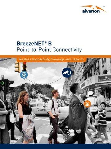 BreezeNET® B Point-to-Point Connectivity - Alvarion