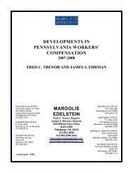 Compensation Newsletter - October 2008 - Margolis Edelstein