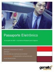 Passaporte Eletrônico: Singapore - Gemalto