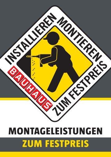 montage + produkt - Bauhaus