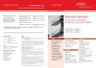 Beck Akademie Seminare - Flyer - dr. lutz h. michel