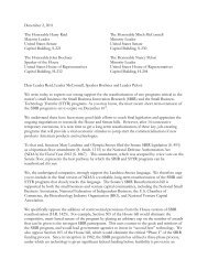 December 2, 2011 The Honorable Harry Reid Majority Leader ... - Zyn