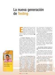 La nueva generación de Testing - Revista DINTEL Alta Dirección
