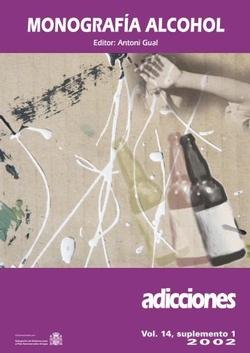 Monografía Alcohol - Plan Nacional sobre drogas