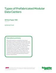 Types of Prefabricated Modular Data Centers