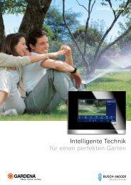Intelligente Technik für einen perfekten Garten - Busch-Jaeger ...