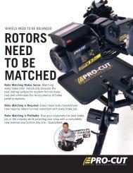 PFM 9.0 - Pro-Cut USA On-Car Brake Lathes