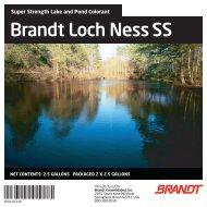 Brandt Loch Ness SS