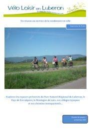 Dossier Fr 2013 (pdf - 2,97 Mo) - Vélo Loisir en Luberon