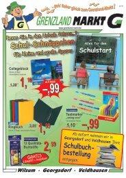 Buntstifte 2,99 2,99 - Grenzland Markt
