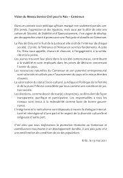 EED Heft 7 frz_Inhalt_Endf.qxp - Ziviler Friedensdienst