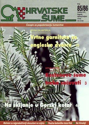 (pravilan) izbor zrna - Hrvatske šume