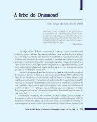 A urbe de Drummond - Légua & meia - Universidade Estadual de ...