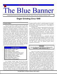 Volume 3 Issue 1-2. January-February 1994. - The Blue Banner