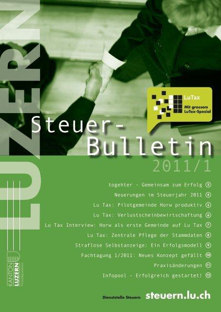 1.9MB - Steuern Luzern - Kanton Luzern