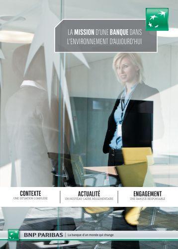 Consulter le dossier - Rapport annuel 2012 de BNP Paribas