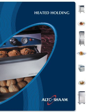 heated holding cabinets - Progastro
