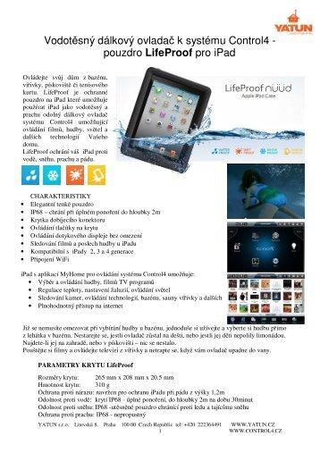 pouzdro LifeProof pro iPad - yatun